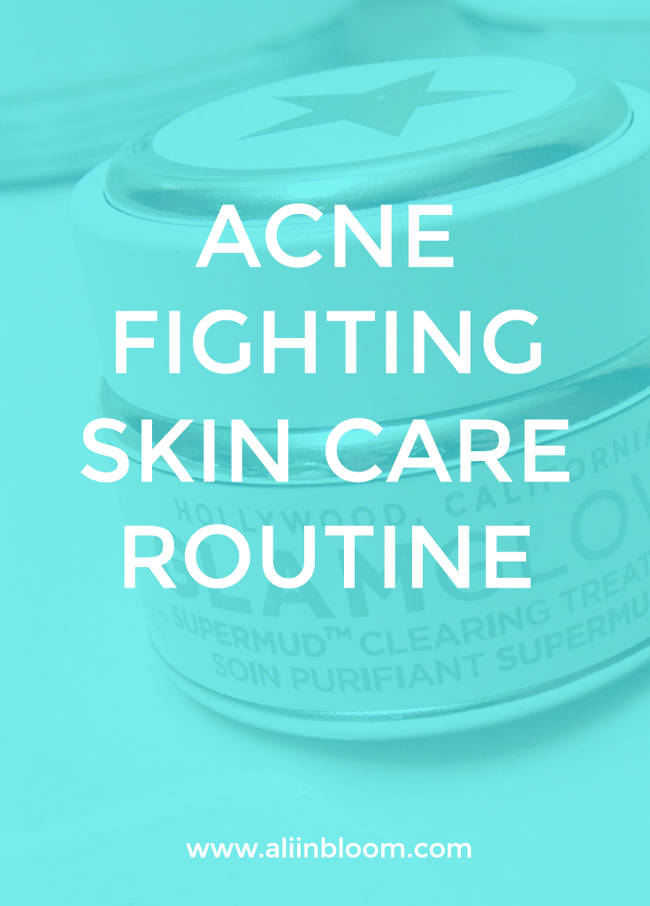 Easy and Effective Daily Skin Care Routine & Acne Fighting Regimen. Complete list of products and directions to fight acne.