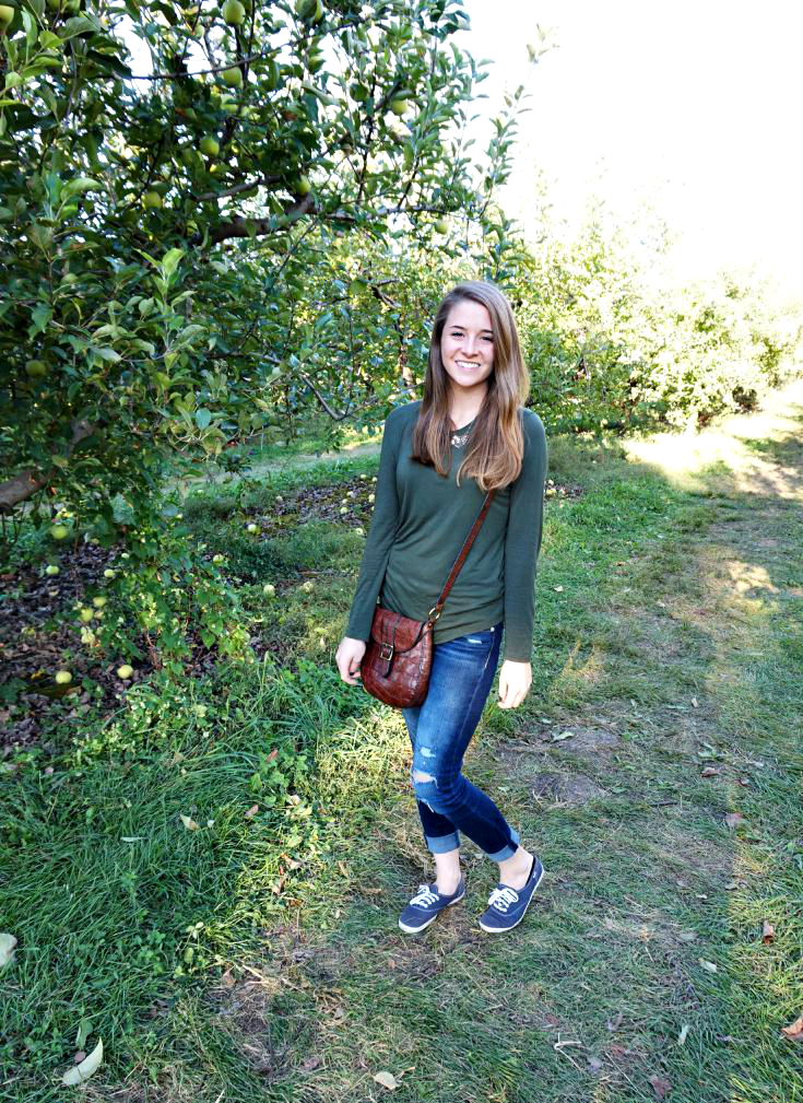 Falling in love with Autumn - Apple Orchard