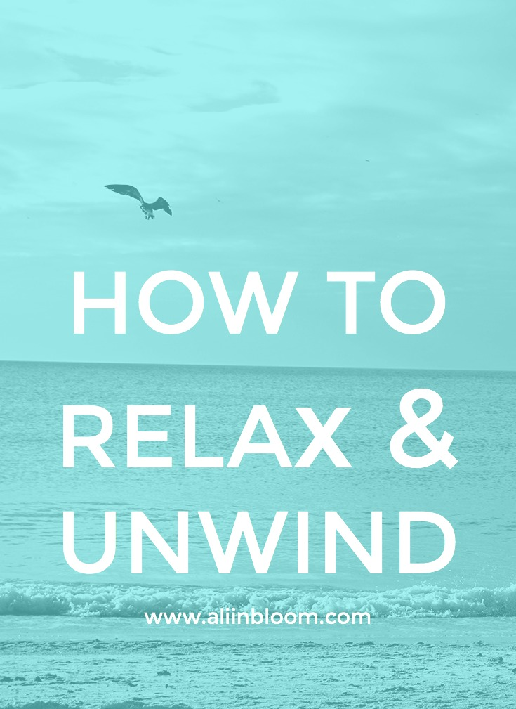 If you ask me, we're all way too go, go, go around here. Here are 8 ways to relax and unwind after a long and busy day.