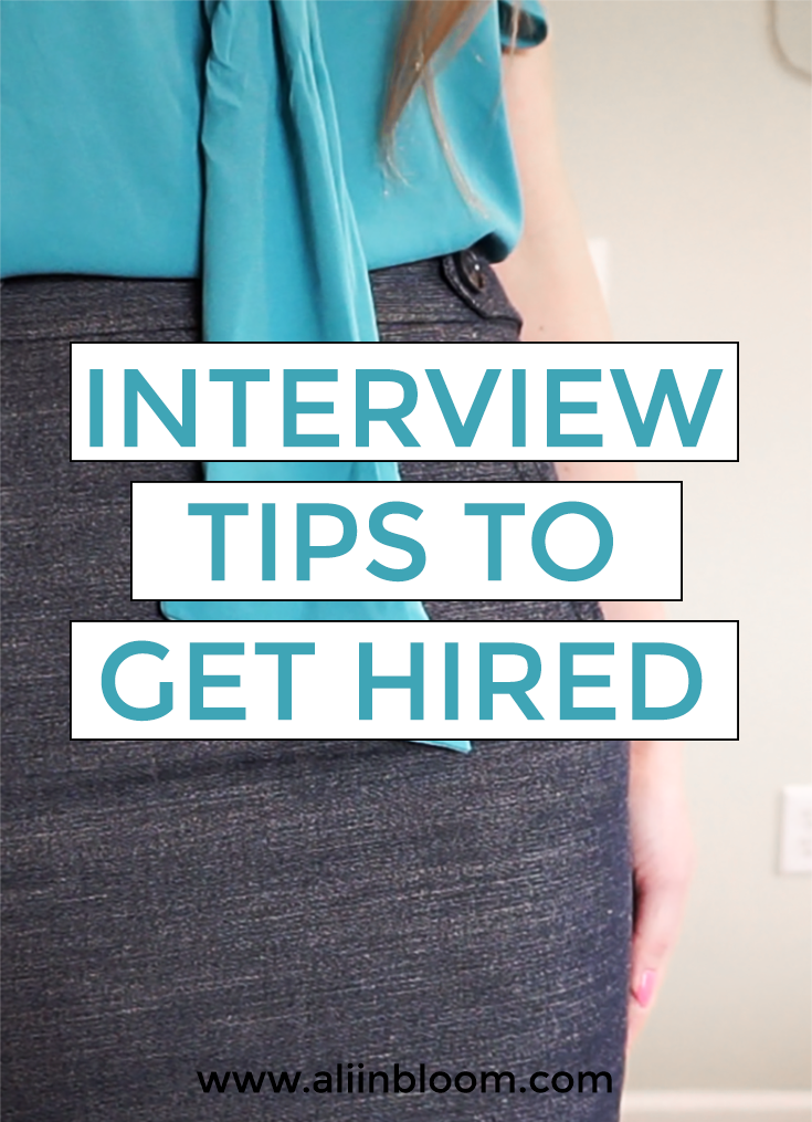 Simple Interview Tips to Get Hired. You can take actionable steps before, during, and after the interview that will help you get hired.