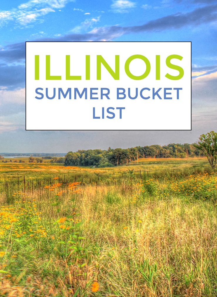 Outdoor Illinois Summer Bucket List - 7 outdoor activities to add to your Illinois summer bucket list. It's time to get outside and enjoy the warm weather months!