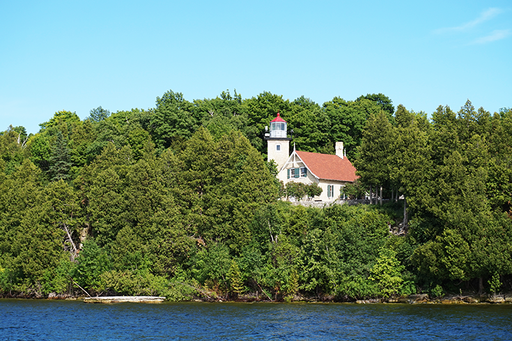 Peninsula State Park | Eagle Bluff Lighthouse | Door County, WI