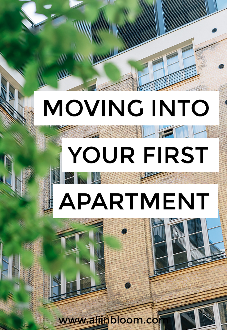 How to choose your first apartment, prepare for moving into your first apartment and move into your first apartment- or your second, third or fourth.