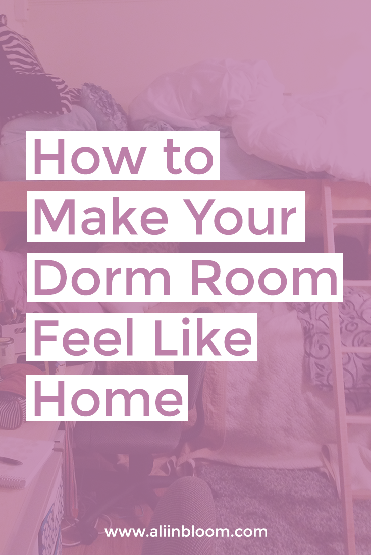 Dorm rooms have a way of feeling cold on move-in day. Here are four quick tips on how to make your dorm room feel more like home.