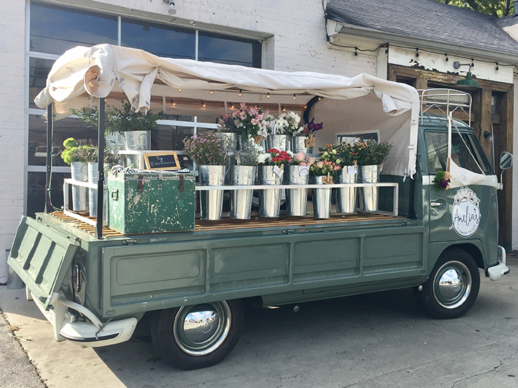 Amelia's Flower Truck (Nashville's Mobile Flower Shop) in 12 South Nashville